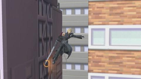 壁ジャンプ