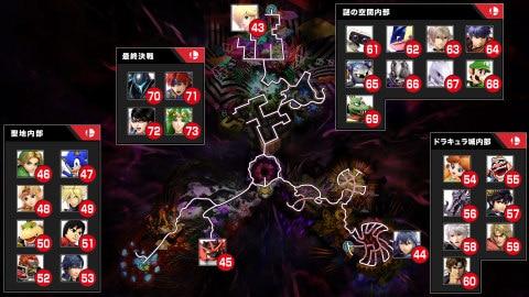 闇の世界マップ