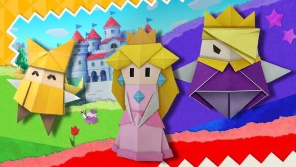 折り紙の野望! ペーパーマリオ オリガミキング