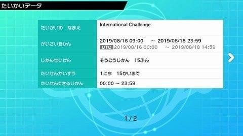 インターナショナルチャレンジ