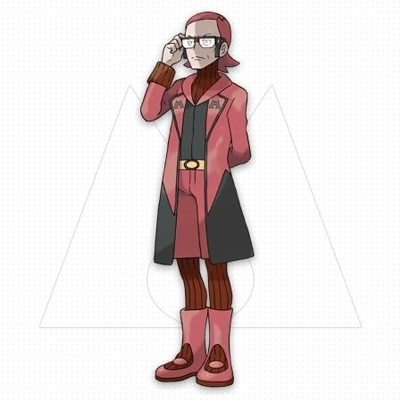 オメガルビー (OR)マグマ団のボス「マツブサ」