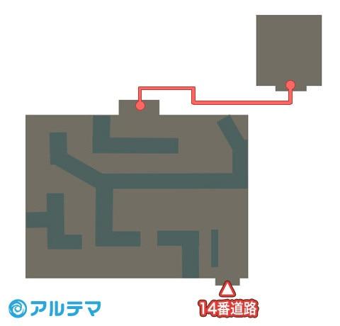 スーパー・メガやす跡地の出現ポケモンとマップ/入手道具