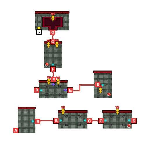 ロケット団の城東側