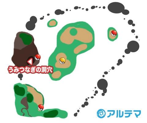 カーラエ湾への行き方【出現ポケモンとマップ/入手道具】