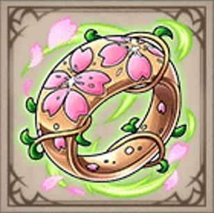 春花の指輪