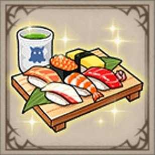 笹木咲の海鮮寿司