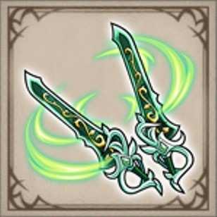 騒嵐の双剣