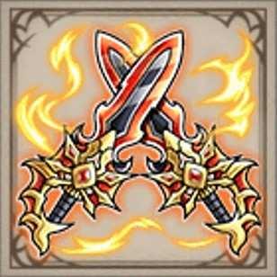 煌々炎龍の双剣