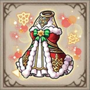 錬金術師のクリスマスドレス
