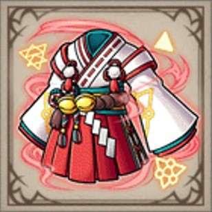 錬金術師の巫女装束