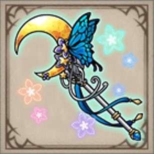 月下蝶の輝杖