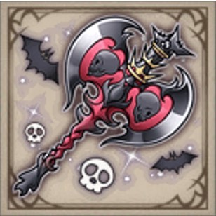 夜色の蝙蝠斧