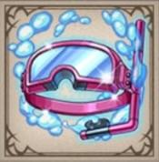 真・夏色の水中メガネ