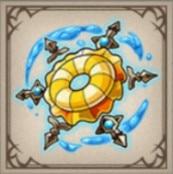 烈日の浮き輪