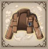 調査兵団の制服