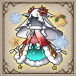 雪精のクリスマスドレス