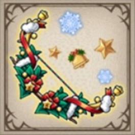 クリスマスリースボウ