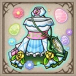 幻想少女のイースタードレス