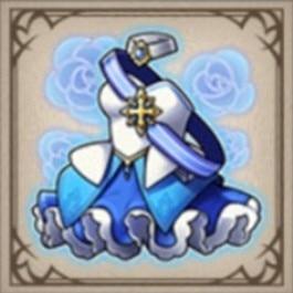 戦輪姫のロイヤルドレス