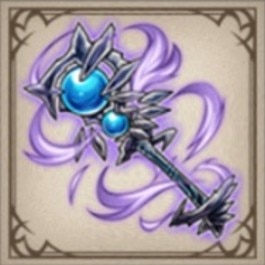 闇夜の蒼黒杖