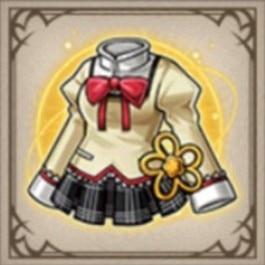 見滝原中学の制服(マミ)