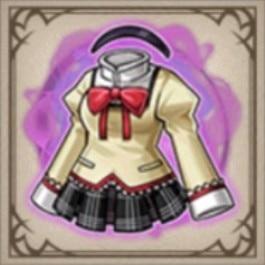 見滝原中学の制服(ほむら)
