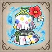 彩花の水着