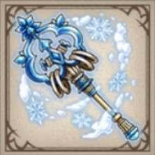 雪氷の錫杖