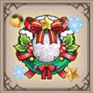 クリスマスリース・シールド
