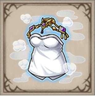 ノルディシア王女の入浴着