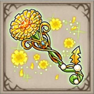 黄花の宝杖