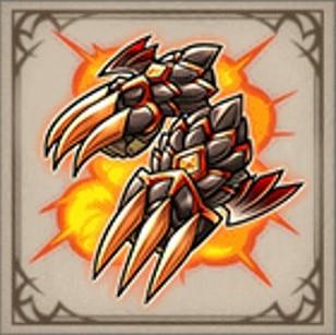 炎滅龍の手甲鈎