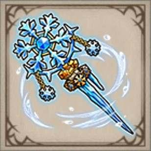 白銀の晶杖