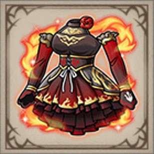 陸兵団隊長のドレス