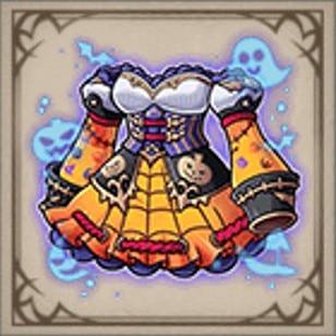 鯨骨のハロウィンドレス
