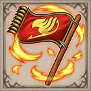 『妖精の尻尾』の旗印