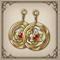 魔理のイヤリング