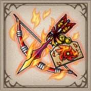 炎鳥の破魔矢