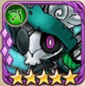 スケルトンアーチャー紫5