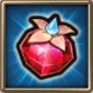 大きな神秘の果実(紅玉) ルビー商人