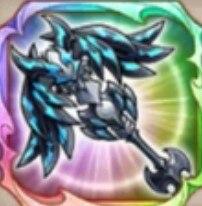 漆黒竜の杖