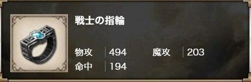戦士の指輪